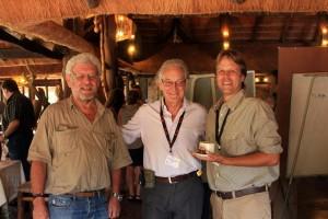 Prof. Rudi Van Aarde, Dr. Iain Douglas-Hamilton, Dr. Mike Chase