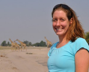 PhD candidate Kylie McQualter